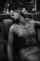Cimetière Notre-Dame-des-Neiges (yannick_gagnon) Tags: bw canada monochrome cemetery angel catholic montréal noiretblanc pentax quebec montreal ange québec cimetiere noirblanc statut quebecois cimetièrenotredamedesneiges pentaxlife pentaxk50
