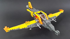 Phoenix (Hendri Kamaluddin) Tags: sky plane airplane lego aircraft airship airforce squadron moc fighterplane skyfi fantasyplane victorysquadron