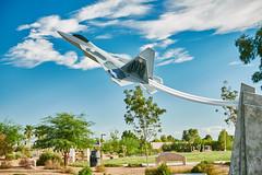 20151014-Raptor-02 (cityoflasvegasPIO) Tags: park las vegas airplane play nevada jet ground raptor area f22 durango