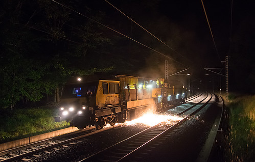 18.07.2015, Rail milling train SchweerBau, Červenka - Moravičany