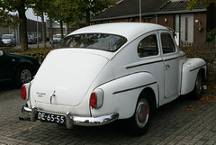 1964 Volvo PV 544 (peterolthof) Tags: volvo import pv544 sidecode1 de6555