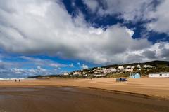 View of Woolacombe Devon (Neil Baldwin) Tags: croyde devon neilbaldwin public autumn cloudporn clouds cornwall holiday landscape polzeath seascape seaside httpneilbaldwinnet
