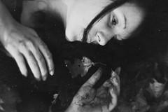 metamorphosen (sanna.tugend) Tags: autumn bw white black blur dark dead death blackwhite gloomy silence mysterious mystical metamorphosis tristesse darkart melancholic ordeal