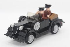 Russian WW2 LEGO GAZ61 (dmikeyb) Tags: car lego general wwii soviet ww2 russian marshal rare exclusive gaz61