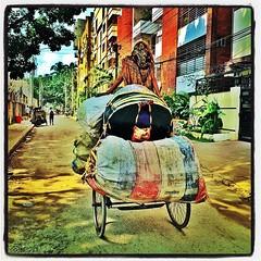 Few #transport systems as versatile as... (shahidul001) Tags: transport dhaka trade bangladesh ricksha dhanmondi eavig uploaded:by=flickstagram instagram:photo=1096200714262178945331697074