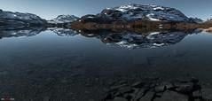 Crystal Clear.... (bent inge) Tags: autumn fall norway telemark haukeli vinje haukelifjell autumnturnstowinter bentingeask