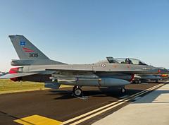 305 ROYAL NORWEGIAN AIR FORCE GENERAL DYNAMICS F-16 FIGHTING FALCON WADDINGTON 2009 (toowoomba surfer) Tags: aircraft aviation airshow f16 static