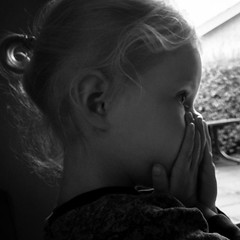 Childhood Fears  (Signed_off_M) Tags: portrait bw girl kids fear