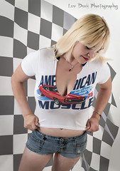 American Muscle (Keltron - Thanks for 8 Million Views!) Tags: sexy donna blonde shorts cleavage bellybutton select beautifulgirl hotgirl sexygirl hotmodel alaskangirls anchoragegirls