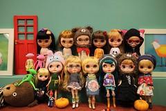Doll meet happy Halloween