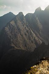Cuillin (amcgdesigns) Tags: skye scotland scottish cliffs ridge drama steep cuillin sgurralasdair sgurrnabanachdich canon100400mm eos7d andrewmcgavin cuillinlodgeoct2014 andrewmcgavin