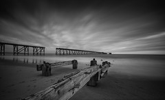 Steetley Pier, Hartlepool (Mike Fellows) Tags: steetley pier hartlepool pentax k3 sigma 1020 coastal north east mono silver efex pro nd 10 stop long exposure