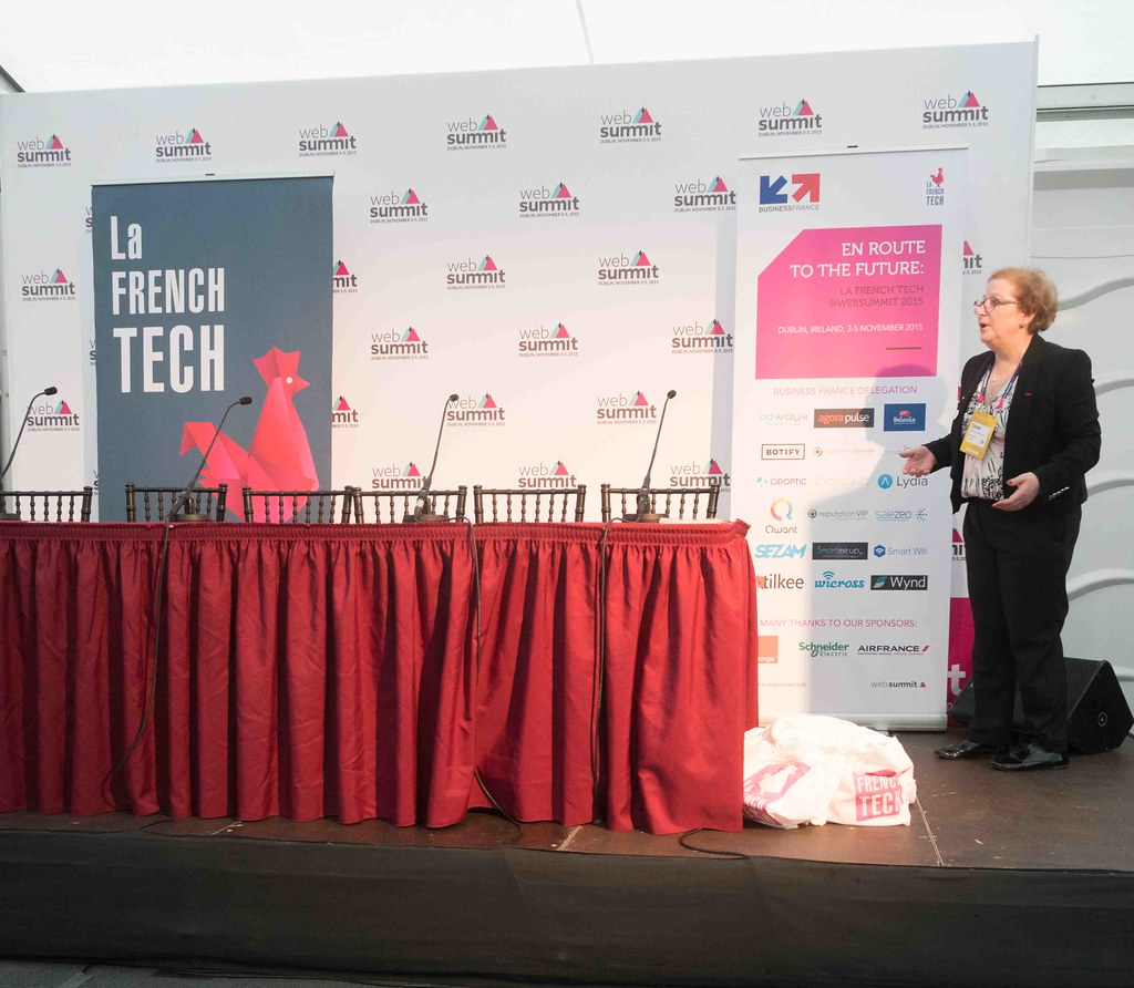 TODAY AT THE WEB SUMMIT THERE WAS A PRESS CONFERENCE HOSTED BY AXELLE LEMAIRE [FRENCH MINISTER RESPONSIBLE FOR DIGITAL AFFAIRS]-109903