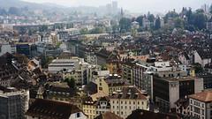 Luzern (Zerno) Tags: city panorama skyline landscape schweiz switzerland europe suisse swiss luzern roofs lucerne