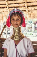 Longneck woman (TU NHAT VU) Tags: travel people thailand photography photo village burma hill culture human longneck myanmar tribe northern ethnic burmese chiangrai muang amazingthailand