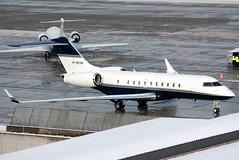 M-SKSM (GH@BHD) Tags: corporate aircraft aviation zurich executive zurichairport bombardier globalexpress kloten zrh bizjet global5000 bd700 msksm teksermanagement