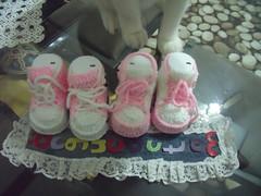 DURU'nun conversleri (3) (rgantam) Tags: babybooties rg bebekpatii bebekrgleri knittingconvers rgconvers bebekpatikleri durununcicileri elemeihandmade