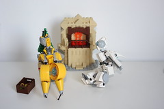 Merry Xmas 2015 !(5) (Loysnuva) Tags: christmas xmas tree fireplace lego system mecha mocs moc loys nuva icya bionifigs loysnuva mihibot bizibot