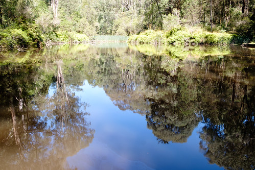 The lake at Gilwell Park Scout Camp by r reeve, on Flickr