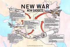 New War - New Tabloid Military Hardware Graphics (Darren Cullen) Tags: army arms air iraq syria british trade strikes bombing raf drones militarism syriancivilwar