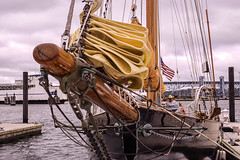 In From Newport (joegeraci364) Tags: ocean new wood sea england cloud seascape heritage history nature water beauty weather festival race landscape outdoors boat george marine ship oliver general patton action yacht outdoor antique connecticut craft vessel columbia atlantic american maritime when boating if sail and mast nautical perry brilliant amistad hazard mystic whaler roann