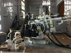Death Star Continues (brickplumber) Tags: