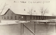 Curling Club with Lock in Foreground