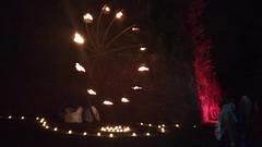 VID_20161001_212624 (Dirk DS) Tags: nocturne coteaux citadelle fire vuur flamme vlam nacht night liège luik belgium belgië belgique 2016 feu candles kaarsjes bougies outdoor wheel wiel kavinsky nightcall