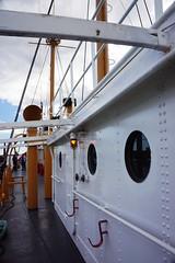 Lightship starboard, Boston MA (Boston Runner) Tags: lightship nantucket lv112 boston harbor massachusetts 1936 shipyard marina eastboston museum preserved deck side starboard