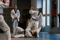 Moving In For The Kill. (Chris Lemmen (PIL Photo)) Tags: 2016 50d jacob redbelttest tkd