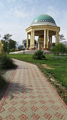 Mausoleum of Kamal Khujandi in Victory Park (h0n3yb33z) Tags: tajikistan khujand silkroad