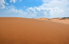 Red dunes (MicheleSana) Tags: vietnam nikon d3300 summer estate trip viaggio 2016 asia colors colori scatto shoot dune dunes red rosso cielo sky azzurro light blue sand sabbia clouds cloudy nuvole wild natura nature selvaggia mui ne