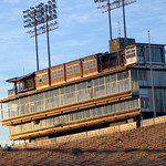 Old Press Box, Carter-Finley Stadium; 2003
