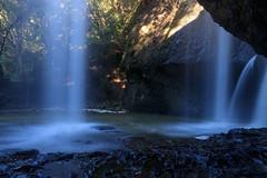 View from the backside (t.kunikuni) Tags: jp 茨城県 茨城 いばらき イバラキ 久慈郡 久慈 くじ クジ 大子町 大子 だいご ダイゴ 月待の滝 つきまちのたき ツキマチノタキ 滝 japan ibarakiken ibaraki kujigun kuji daigomachi daigo tsukimachifalls tsukimachinotaki falls waterfall