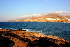 Palatia Island (ika_pol) Tags: naxos naxostown palatiaisland magichour longhour greece cyclades cycladesislands whitetown narrowstreet greekislands geotagged mediterranean aegeansea aegean sea