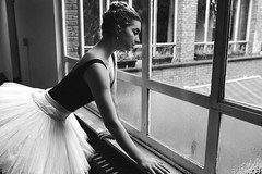 Rest your your body and mind, but never your passion-1-2 (dewestelincksmith) Tags: ballet ballerina black whit