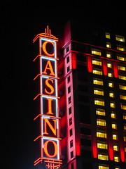 Casino at Night (Harold Brown) Tags: architecture building canada casino haroldbrown niagarafalls night outdoor sign signboard sonydsch5 summer travel bhagavideocom haroldbrowncom harolddashbrowncom photosbhagavideocom