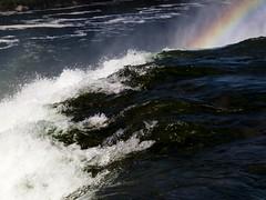 Niagara Falls Rainbow 02 (Craig Tata) Tags: niagarafalls outside outdoors water nature waterfalls americanfalls