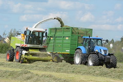 Claas Jaguar 890 SPFH filling a Smyth Trailer FieldMaster Trailer drawn by a New Holland T7050 Tractor (Shane Casey CK25) Tags: claas jaguar 890 spfh filling smyth trailer fieldmaster drawn new holland t7050 tractor nh cnh blue rathcormac newholland self propelled forage harvester silage silage16 silage2016 grass grass16 grass2016 winter feed fodder county cork ireland irish farm farmer farming agri agriculture contractor field ground soil earth cows cattle work working horse power horsepower hp pull pulling cut cutting crop lifting machine machinery nikon d7100 tracteur traktori traktor trekker trator cignik