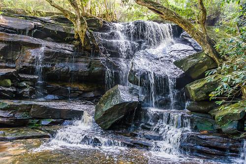 Somersby Falls - bottom falls