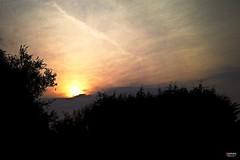 A Mystic Celtic Sunset (Machlud Haul) (caren (Thanks for 1 Million+ views)) Tags: machludhaul sunset clouds sonnenuntergang sonnenunterganginwales westwales ceredigion cymru