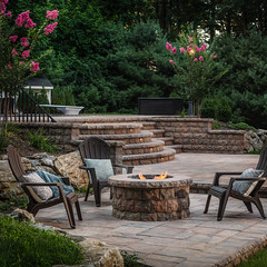 ANCHOR_C_BEL2015_RES_LafittRusticSlab_BelairWall_Patios_Firepits_Walls_Steps_001-1_preview (bdlmarketing) Tags: firepit fireplace fire place paverstone unique landscape hardscape dreamscape belgard steps retainingwall landscapelighting back yard