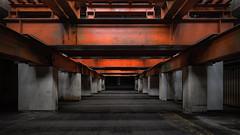 . steelwork (Ruinenstaat) Tags: tumraneedi ruinenstaat inruins platzderaltensteine lost urbex stahl steel orange beton concrete cellar keller basement sonyalpha7