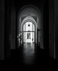 second floor (dieterein@ymail.com) Tags: monochrome blackandwhite bw einfarbig floor