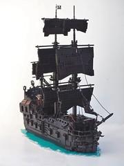The Black Pearl (W. Navarre) Tags: black pearl lego ship nautical jack sparrow
