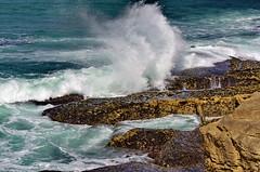 83 - Ericeira - Rua das Furnas Portugal (paspog) Tags: portugal ericeira vagues waves rochers rocks ocan ocean mer sea