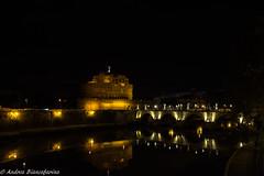 Castel Sant'Angelo (AndBiancafarina) Tags: roma rome castel santangelo italia italy night notte capitale monumento romani