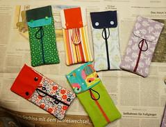 Tampontasche Rosi 2 (Two_tango) Tags: nähen sewing crafting täschchen taschen zipper cotton