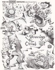 Robert Crumb / Endzeit Comics / page 106 (micky the pixel) Tags: comics comic comix undergroundcomics buch book livre zweitausendeinsverlag robertcrumb endzeitcomics