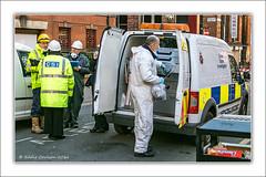 CSI Move In (Fermat48) Tags: manchester city chinatown csi nicholasstreet fire derelictbuilding firebrigade greatermanchester crinesceneinvestigation policevan